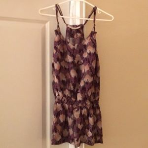Purple Patterned Forever 21 Tank!